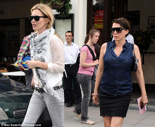 Home to carry on the party? Kate and Sadie looked like they were headed on somewhere else to toast her birthday