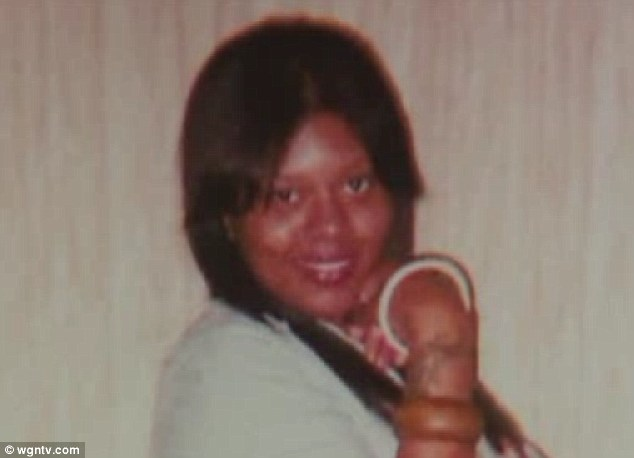 Latest victim: Tiffany Edwards, 25, was shot dead in a friend's van as they left a gas station last weekend
