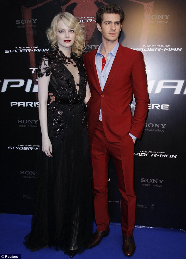 Getting used to that colour! Andrew Garfield joined his on and off-screen love for photos and looked handsome in his Spider-Man red Balenciaga suit