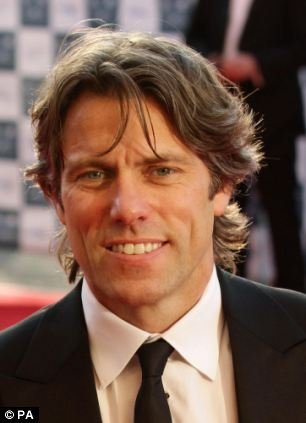 Backing: Carr was supported by comedians including BBC regular John Bishop