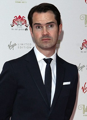 Jimmy Carr: The comedian has admitted he 'made a terrible error of judgment' after investing in an off-shore tax scheme