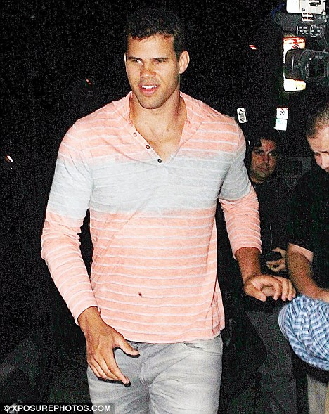 Wild claims: Kris Humphries, pictured in Los Angeles last week, has apparently alleged Kris Jenner was behind Kim Kardashian's sex tape