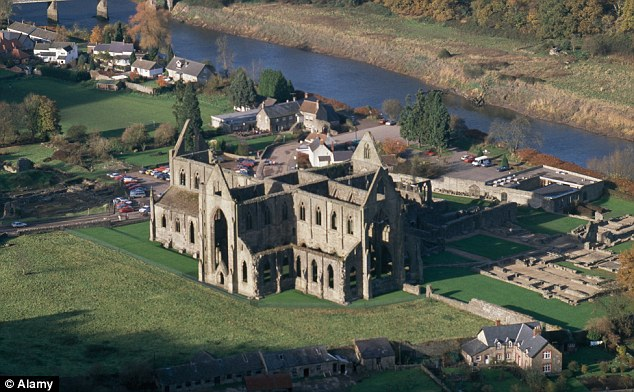 Tintern Abbey in Wales is also part of the Crown Estate. Over the last ten years, the portfolio has contributed £2billion to the Treasury