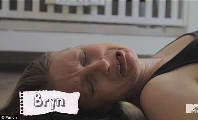 Drama queen: Bryn, another fictitious mother, complains that her insurance won't cover her planned home birth