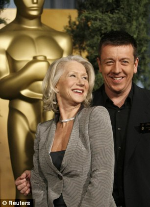 Reunited: Helen Mirren is teaming up again with Peter Morgan, who wrote the screenplay for the Oscar-winning 2006 film The Queen