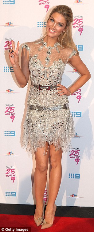 New couple? The Voice Australia coach Delta Goodrem is reportedly dating the talent show's host Darren McMullen