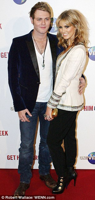 Long-time love: Delta was in a relationship with Westlife singer Brian McFadden for seven years