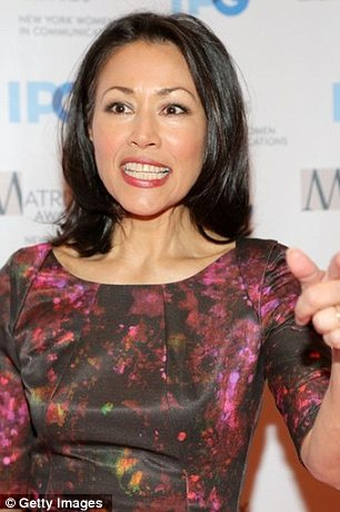 Crushed: Ann Curry has been sacked as host of NBC's Today, according to recent reports