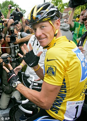 Renewed attack: Armstrong