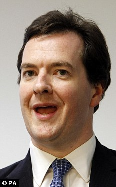 Nice surprise: The Chancellor and his family had given up hope of finding Freya after she went missing three years ago