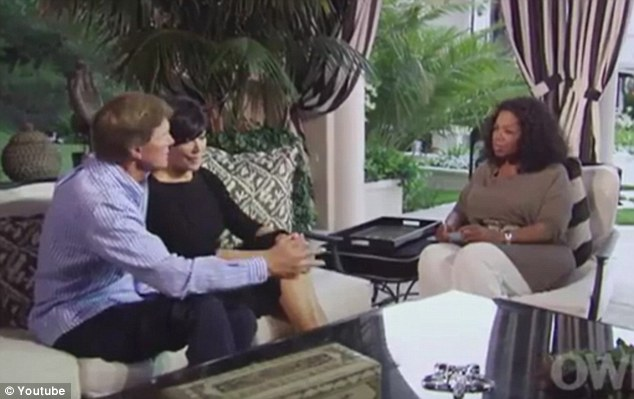 Opening up: The interview is from the second part of Oprah Winfrey's profile of the family