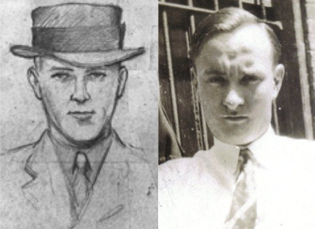 New suspect: John Knoll (right) bears a striking similarity to 'Cemetery John' (left), the man who received the $50,000 ransom for Charles Jr in a cemetery in the Bronx
