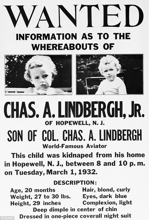 Hunt: The child's disappearance was one of the most sensational news stories of the 20th century