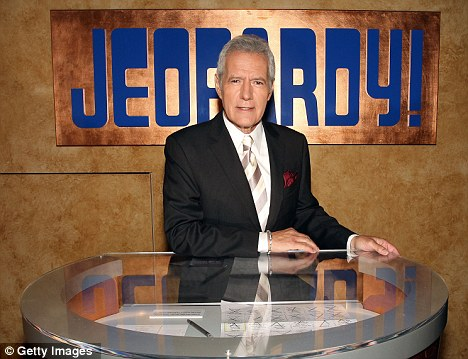 Quiz master: Jeopardy! host Alex Trebek, 71, has suffered a mild heart attack in Los Angeles
