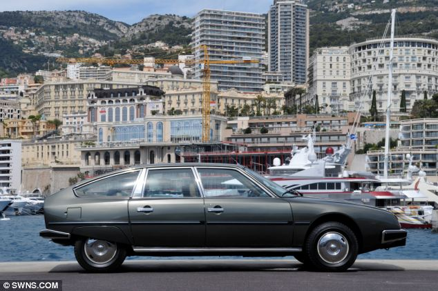 A 1980 Citroen CX is also part of the selection of bargain basement cars being auctioned off