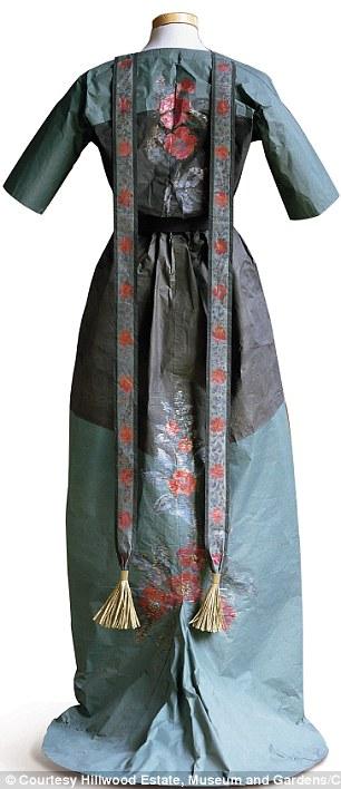 Callot Soeurs Dress based on a 1908 design