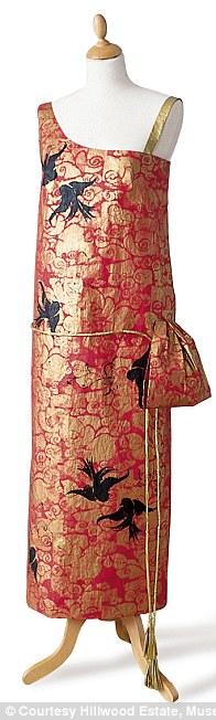 Redfern Dress based on 1924 Redfern of London dress