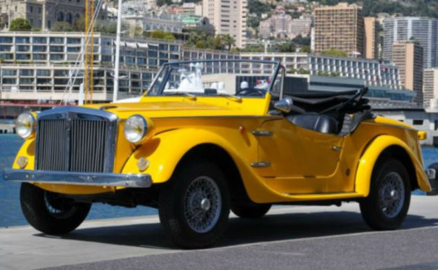 A classic 1969 Siata Spring roadster is priced at between £8,000 and £14,000