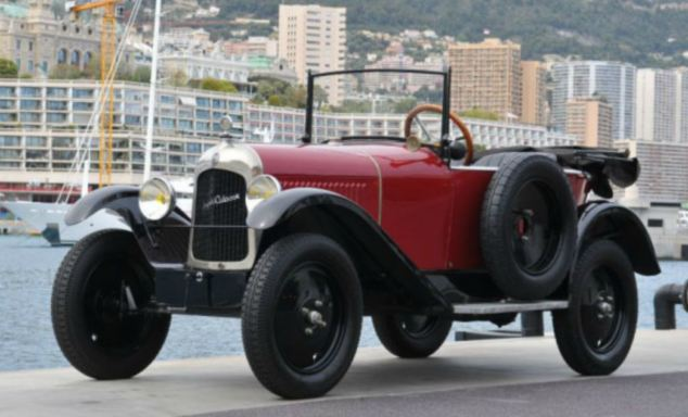 Royal roadster: A 1925 Citroën 5 HP torpédo Trèfle, Super-culasse is priced at £12,000 to £15,000