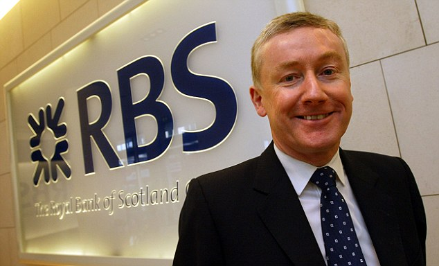 Shambles: Many of the problems facing RBS are the legacy of disgraced boss Fred Goodwin