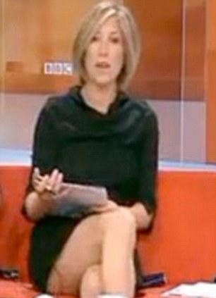 Joanna Gosling  - bbc presenter - grab from BBC