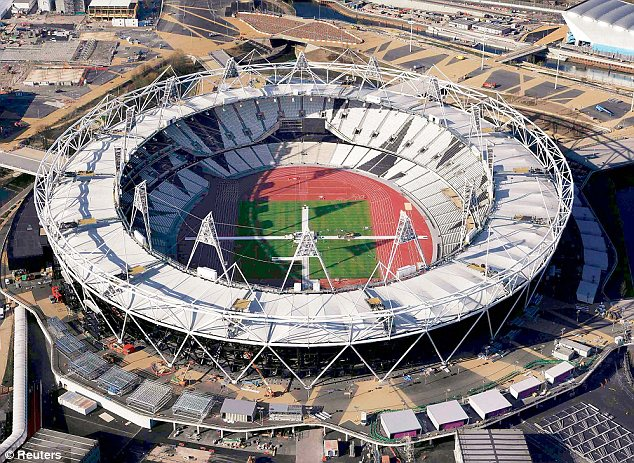 Olympic boom: Hundreds of thousands of site workers, spectators and athletes will flood the Stratford stadium, causing increased demand within the sex trade all over London