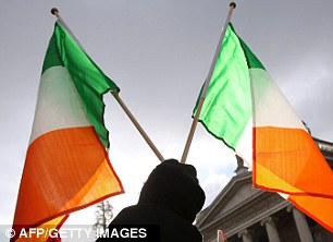 The colour green is significant in Ireland's history