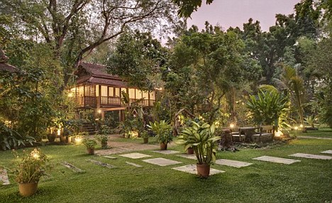 Secluded: Going to The Cabin, in Chiang Mai, is a last ditch attempt by Pete to get clean