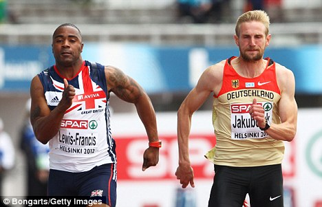 Not going to the games: Mark Lewis-Francis did not make into the Olympic squad
