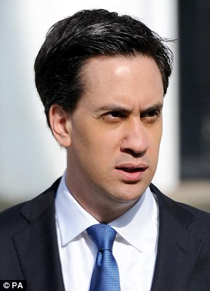 'Full force of the law': Labour leader Ed Miliband has demanded a criminal investigation into the affair