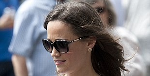 Star supporter: Pippa is a keen fan of tennis and is a member of the Queen's Tennis Club