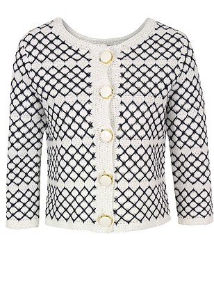 Orla Kiely macrame jacket, was £265, is currently on sale for £132.50