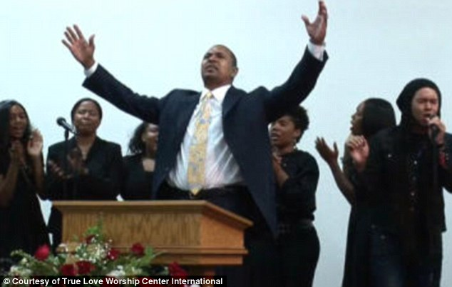 Man of God: Jackson is head coach of the Golden State Warriors and a pastor at True Love Worship Center International in Van Nuys, California