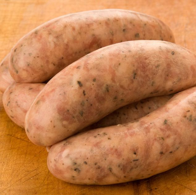 Pork brand: Earlier this month Louth had campaigned for Lincolnshire sausages (pictured) to be given designated protective status, so that only sausages produced in Lincolnshire could bear the county's name