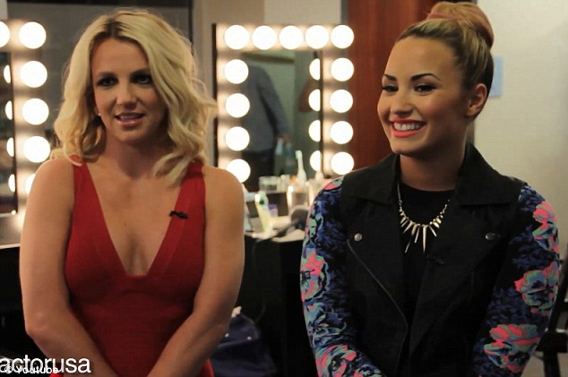 Friends: Britney and Demi are getting on like a house on fire as part of the new judging panel