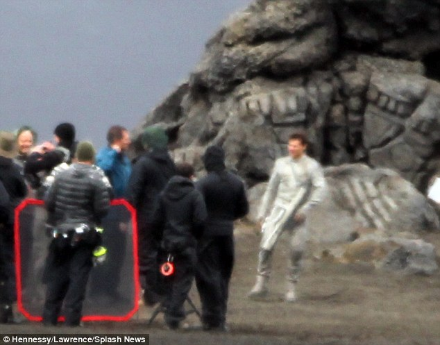 Movies are his first love: Tom invited Katie to celebrate his 50th birthday at a party on the Oblivion movie set in Iceland today - but she turned him down