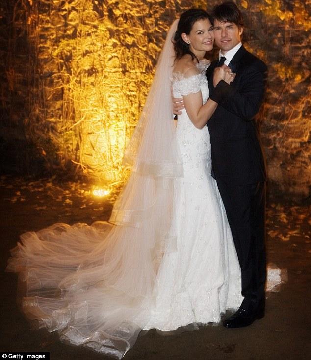 Dream wedding: The pair married in an Italian castle in 2006