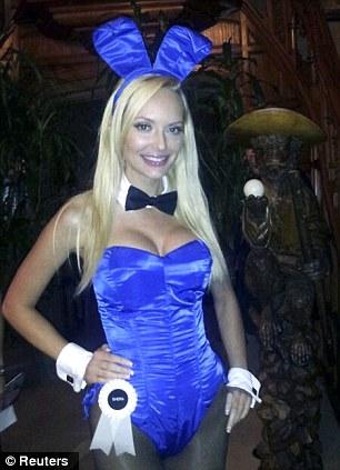 Shera Bechard, the Canadian-born former girlfriend of Playboy Enterprises founder Hugh Hefner,