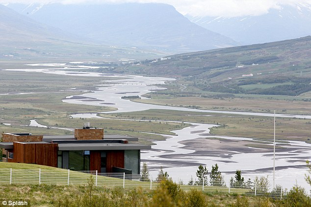 Cruise is finding refuge in a remote hilltop villa, pictured, and is said to be reflecting on being 'blindsided' by his soon-to-be-ex-wife
