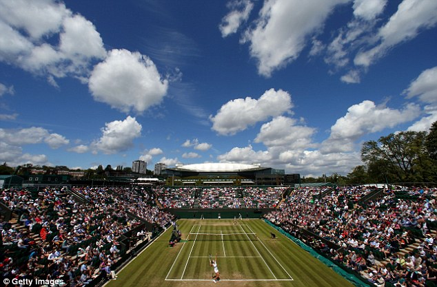All England: It was fine weather for tennis on day six at Wimbledon