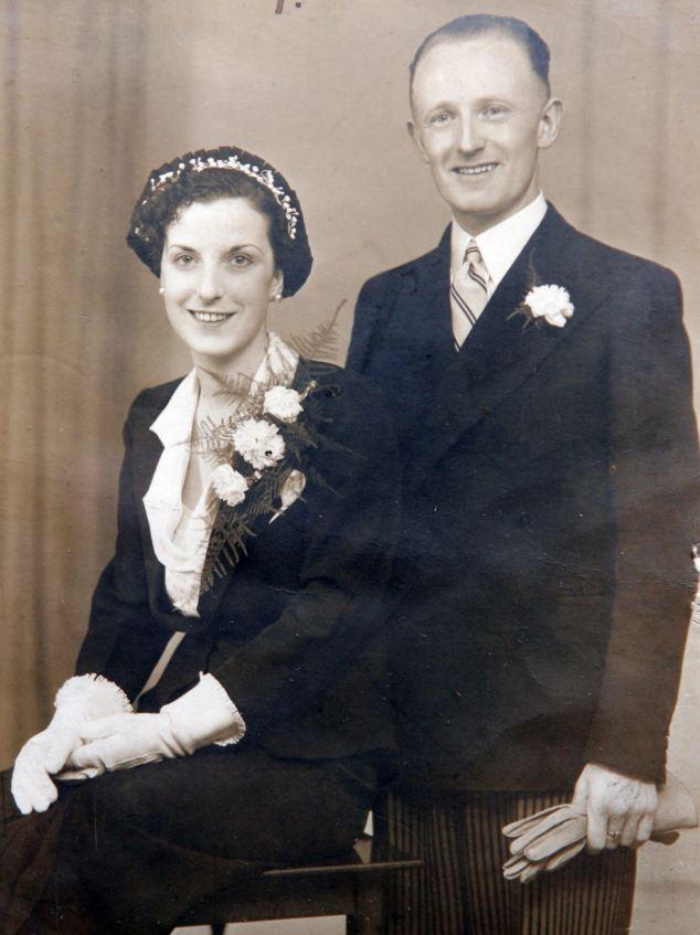 Ancestors: Mr Kinnaird's parents Tom and Winnie