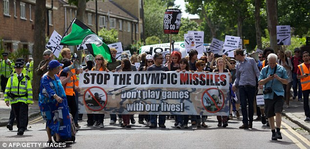 Olympics: The proposals have been put together in case of terror threats during the London Olympics this summer