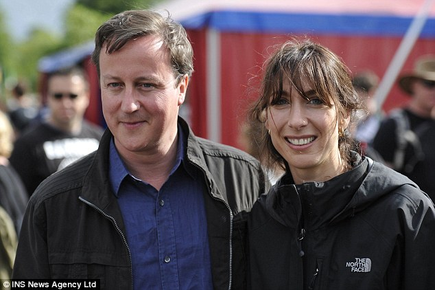 No interest so far: David Cameron and wife Samantha, pictured here attending a local music festival, are part of the so-called Chipping Norton Set