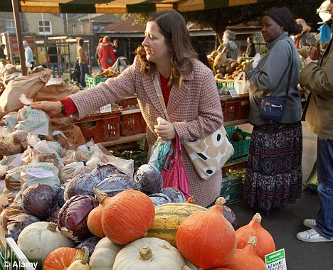 Rural-dwellers have to pay a 'countryside premium' on food and wine