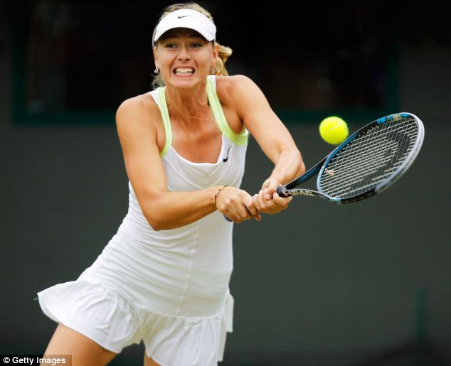 Shock exit: Russian Maria Sharapova crashed out in the fourth round to Sabine Lisicki of Germany