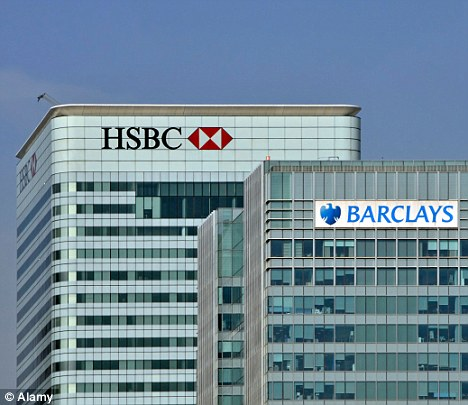 High stakes: A lawsuit has been filed in the US against several banks, including Barclays, HSBC, Lloyds and RBS