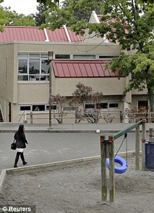 Grisly: A package containing a human hand was opened by staff at False Creek Elementary School