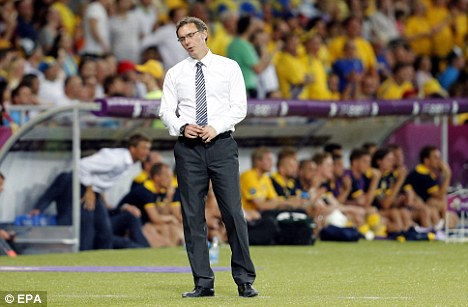 Moving on: Blanc does not want a new deal