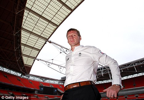 Keeping it quiet: Stuart Pearce has handled David Beckham's Olympic omission admirably