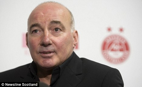 Get rid of them: Willie Miller has reacted angrily to Rangers' plight